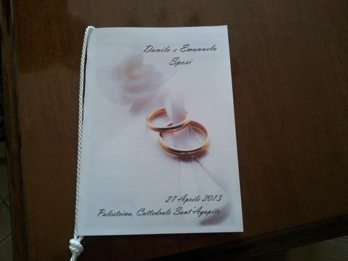 Libretto Messa Matrimonio Rito Romano Da Scaricare : Quasi sposiquasi sposi il diario del nostro matrimonio